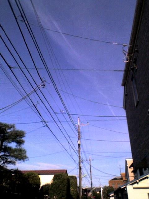 雲と青空【28日あるあるのお散歩写真日記】
