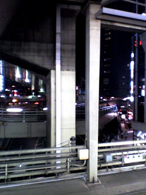 渋谷駅ホームからの眺め【写真移転用その36】