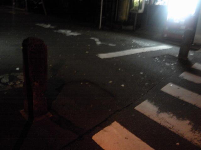 旧道みたいな石柱〜続けてアップその12【東京・桜上水ぶらり】