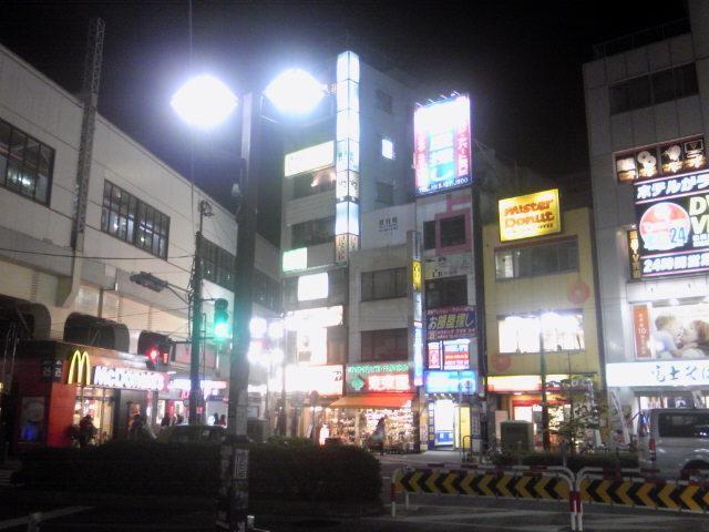 高円寺駅北の夜景〜続けてアップその156【あるあるの東京・中央線ぶらり】