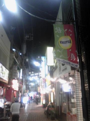 高円寺駅前商店街の夜景〜続けてアップその157【あるあるの東京・中央線ぶらり】