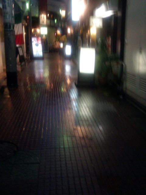東京中野北口雨の狸小路【6・18あるあるの東京・中央線・中野ぶらり】