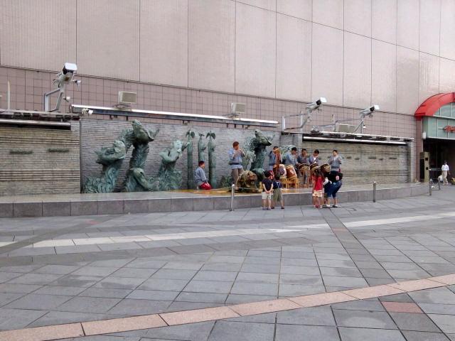 獅子舞〜夏祭りの練習かな【7・22あるあるの茨城・土浦ぶらり】
