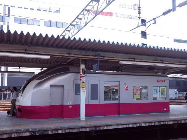 水戸駅ホーム売店風景【9・8あるあるの茨城・水戸ぶらり】