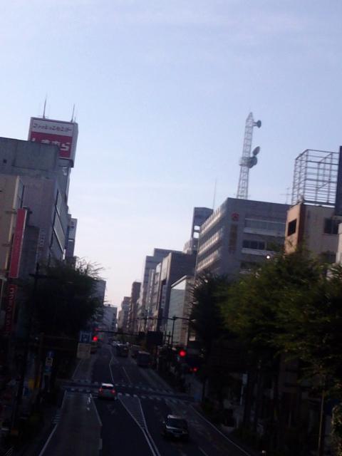 水戸駅前風景〜歩道橋から【9・8あるあるの茨城・水戸ぶらり】