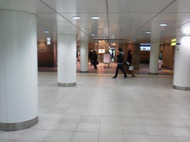 新宿地下道【3月11日あるある東京・新宿ぶらり山ノ手線中央線京王線散策】