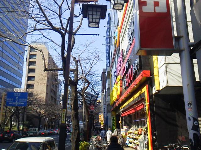 中野通り風景【3月14日あるあるの東京・中野ぶらり中央線散策】